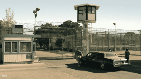 taking carl to prison