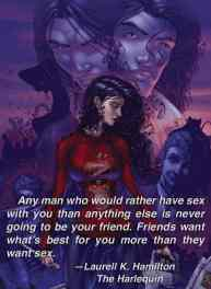 The Harlequin Quote