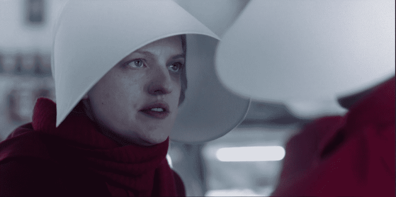June on The Handmaid's Tale