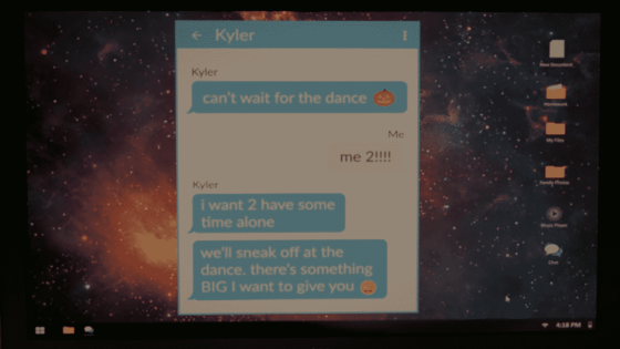 kyler message