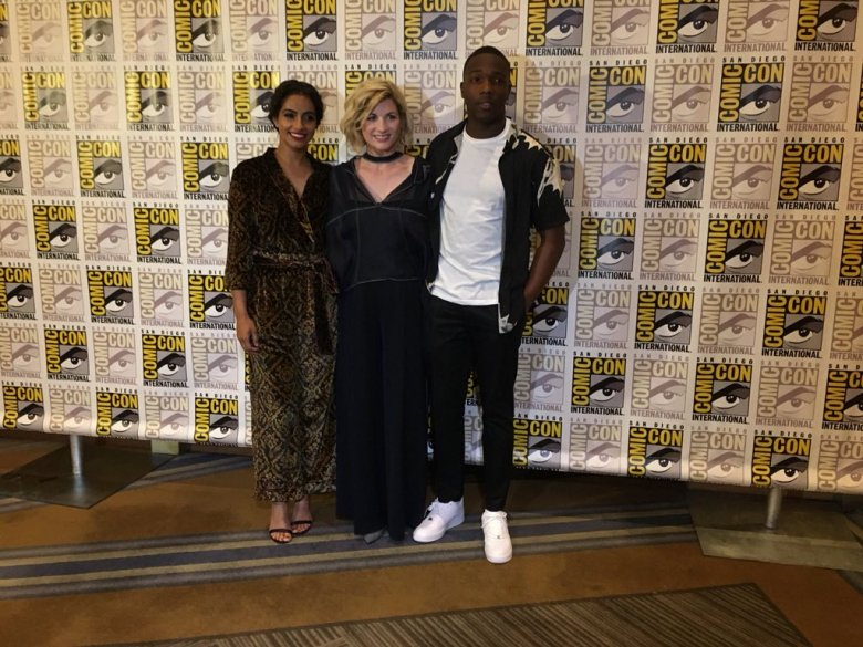 Doctor Who SDCC panel