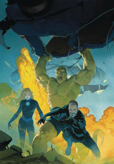 Cover for Fantastic Four #1
