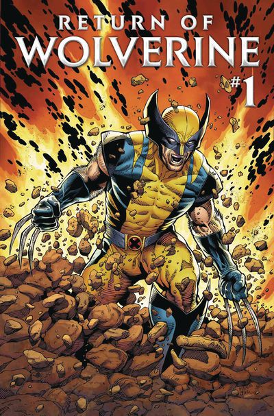 Cover for Return of Wolverine #1