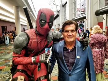 Deadpool Mateo with FanX Co-Founder Bryan Brandenburg Photo Source: Deadpool Mateo for The Game of Nerds