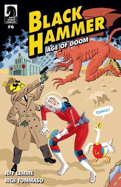 Cover for Black Hammer: Age of Doom #6