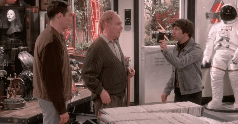 Sheldon, Larry, and Howard on The Big Bang Theory
