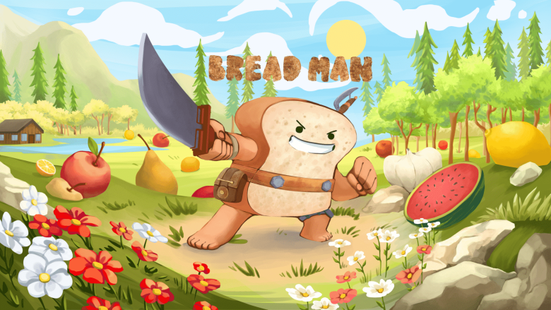 The Adventures of Bread Man art
