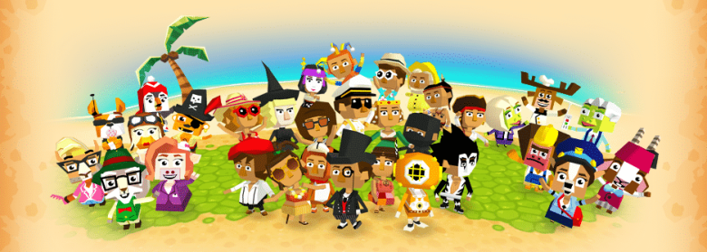 castaway paradise characters