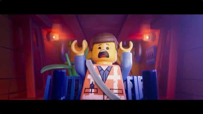 emmet screaming lego movie