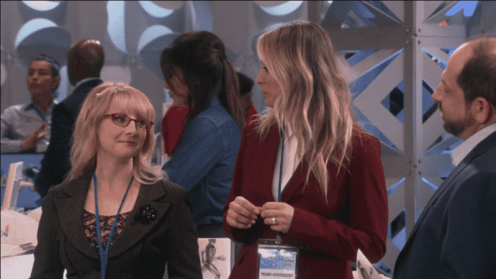 Bernadette and Penny on The Big Bang Theory