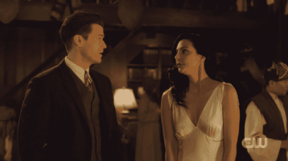 Nate and Zari on Legends of Tomorrow