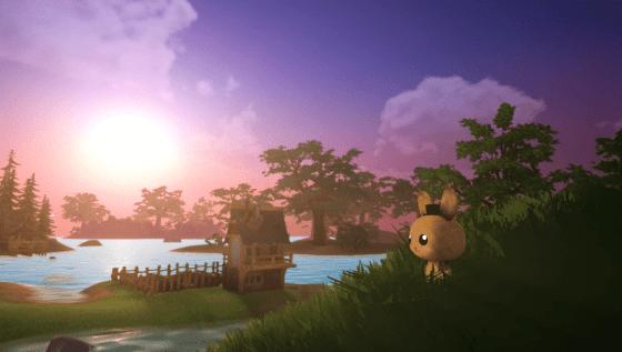 bunny-sunset