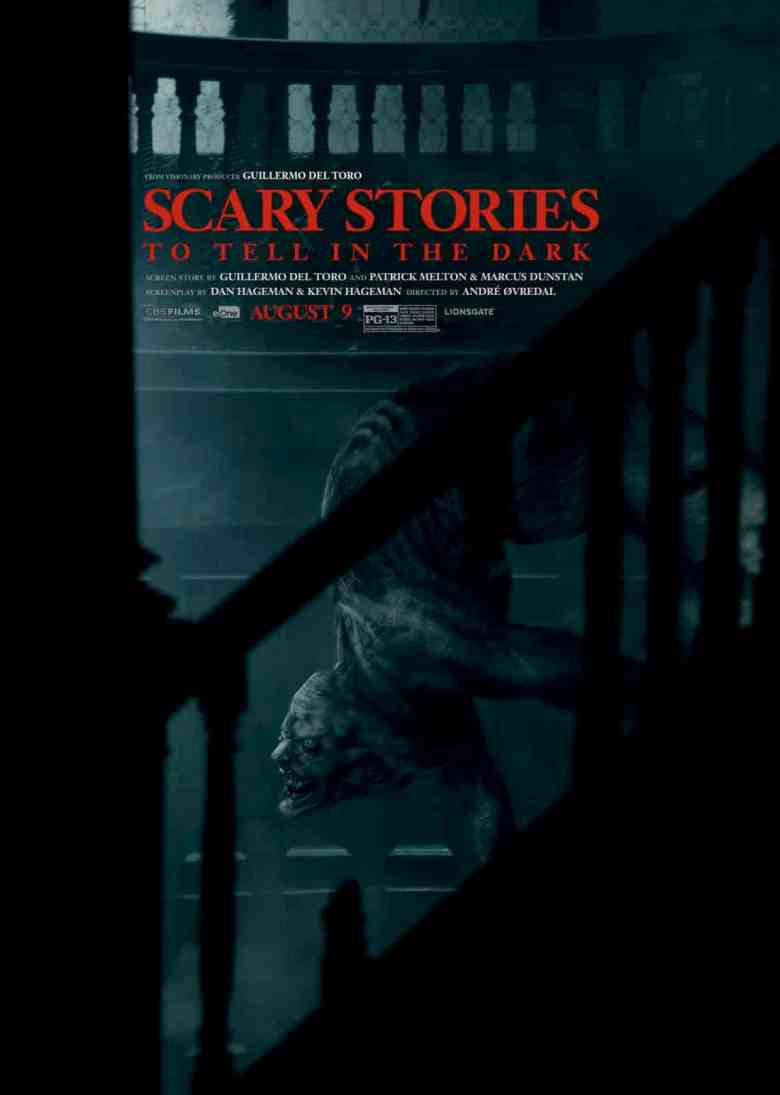 Scary Stories to Tell in the Dark poster featuring the Jingly Man.
