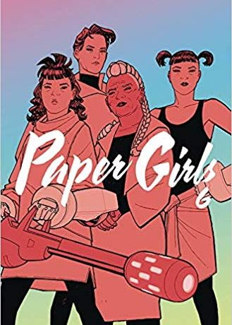 Cover image of Paper Girls, Volume 6, by Brian K. Vaughn, Cliff Chiang, Matt Wilson, and Jared K. Fletcher.