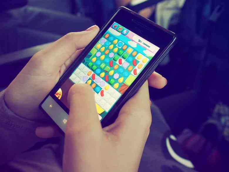 Mobile Gaming Candy Crush