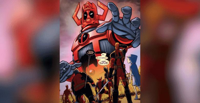 Galactapool: screenshot taken from Top 10 Nerd YouTube channel, top 10 strongest alternate versions of Deadpool video