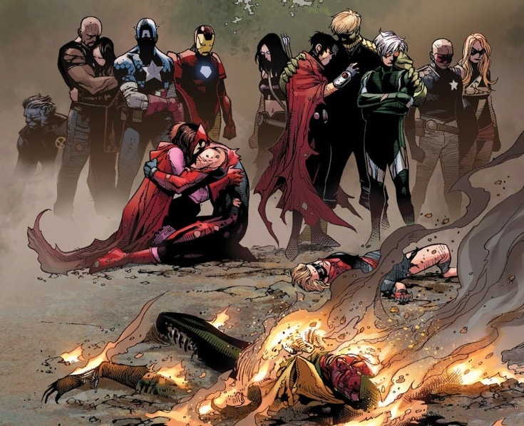 Young Avengers- Children's Crusade Ends with Death of Jonas Vision and Cassie (AKA Stature