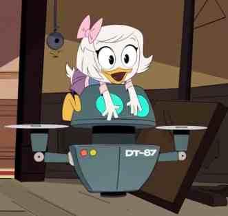 DuckTales Reboot-DT-87 Robot=DuckTales 1987