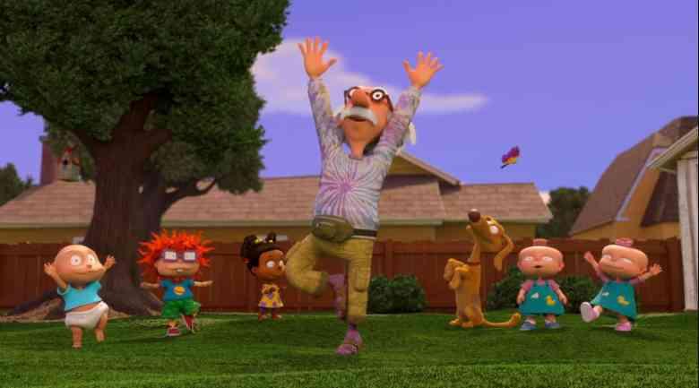 Rugrats Revival-Grandpa Lou is a Hippie