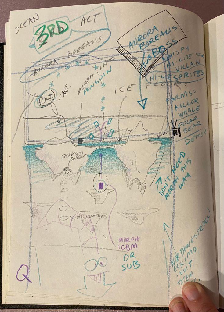 Vectorman Turns 25: Aurora Borealis concepts