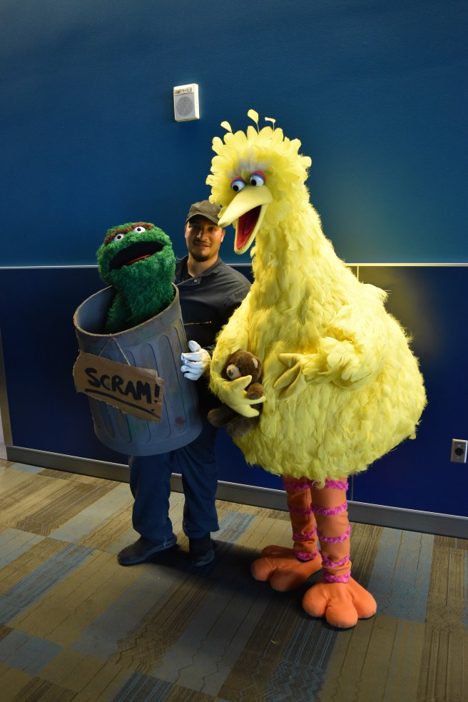Big Bird and The Grouch