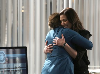 """BONES: L-R: Emily Deschanel and Michaela Conlin in the """"The Final Chapter: The Day In The Life"""" episode of BONES airing Tuesday, March 21 (9:00-10:00 PM ET/PT) on FOX. ©2017 Fox Broadcasting Co. Cr: Ray Mickshaw/FOX"""