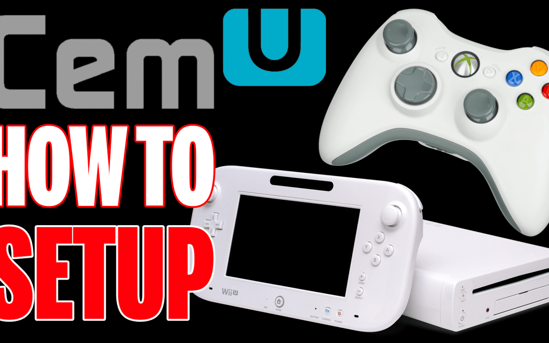 Setting up the Wii U emulator CEMU 1 6 2 with an Xbox 360 Controller