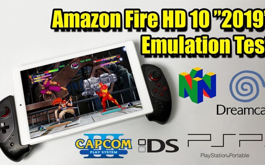 New Amazon Fire HD 10 Tablet Emulation Test