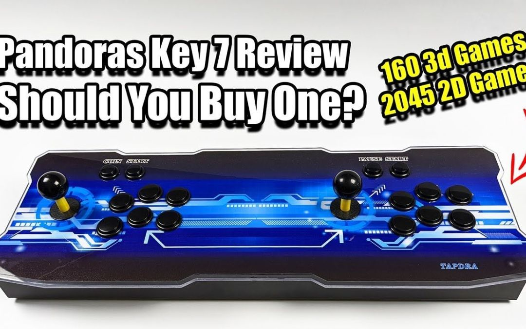 Pandoras Key 7 Review Should You Buy One? 160 3d Games & 2045 2D Games