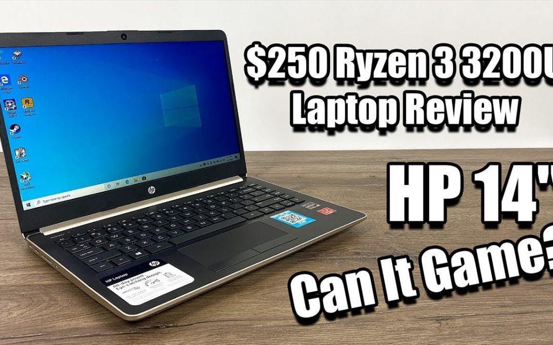 $250 Ryzen 3 3200U Laptop Review – HP 14 Can It Game?