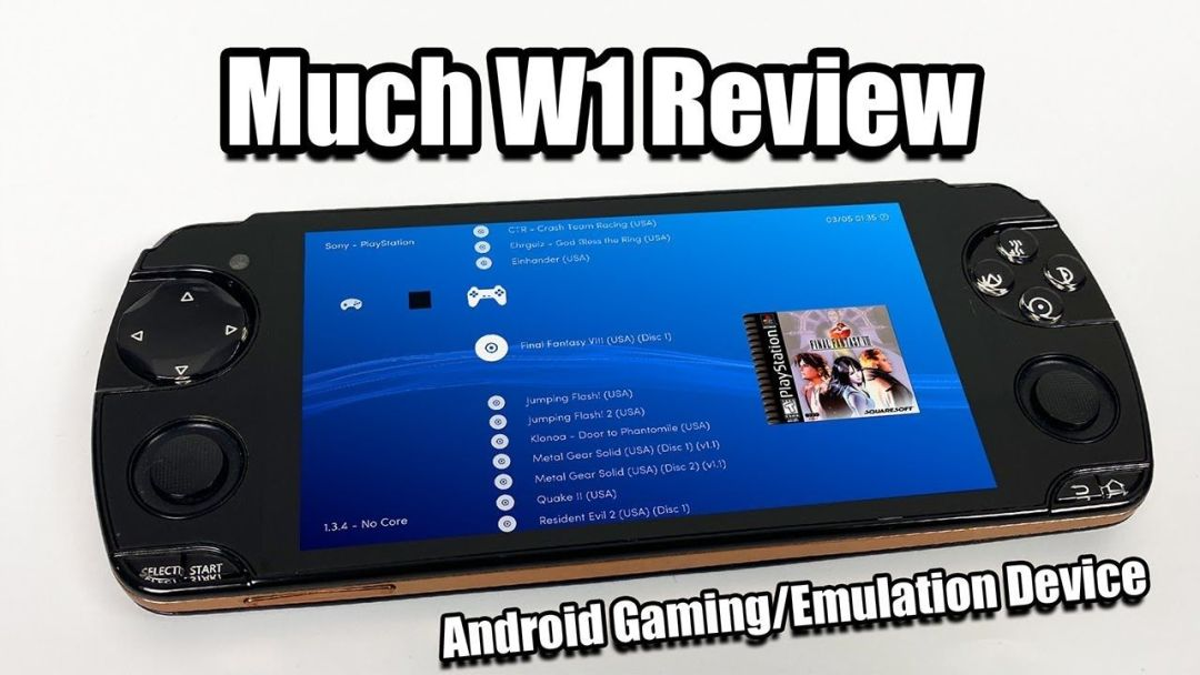 A Psp Ps Vita Clone That Runs Android Much W1 Review Snail