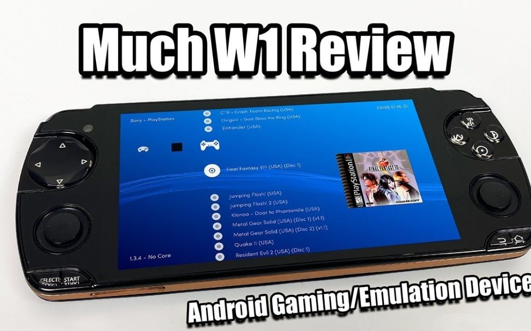 A PSP/PS Vita Clone that Runs Android – Much W1 Review / Snail iReadyGo