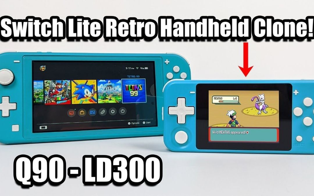 A Switch Lite Retro Handheld Clone – PowKiddy Q90 – LD300