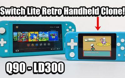 A Switch Lite Retro Handheld Clone – PowKiddy Q90 – LD300