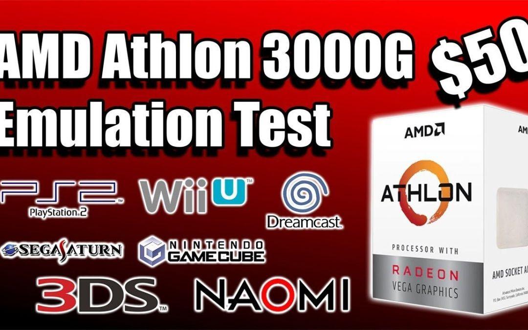 AMD Athlon 3000G Emulation Test An Amazing $50 APU!