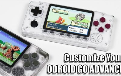 Customize Your ODROID GO ADVANCE Buttons and Color!