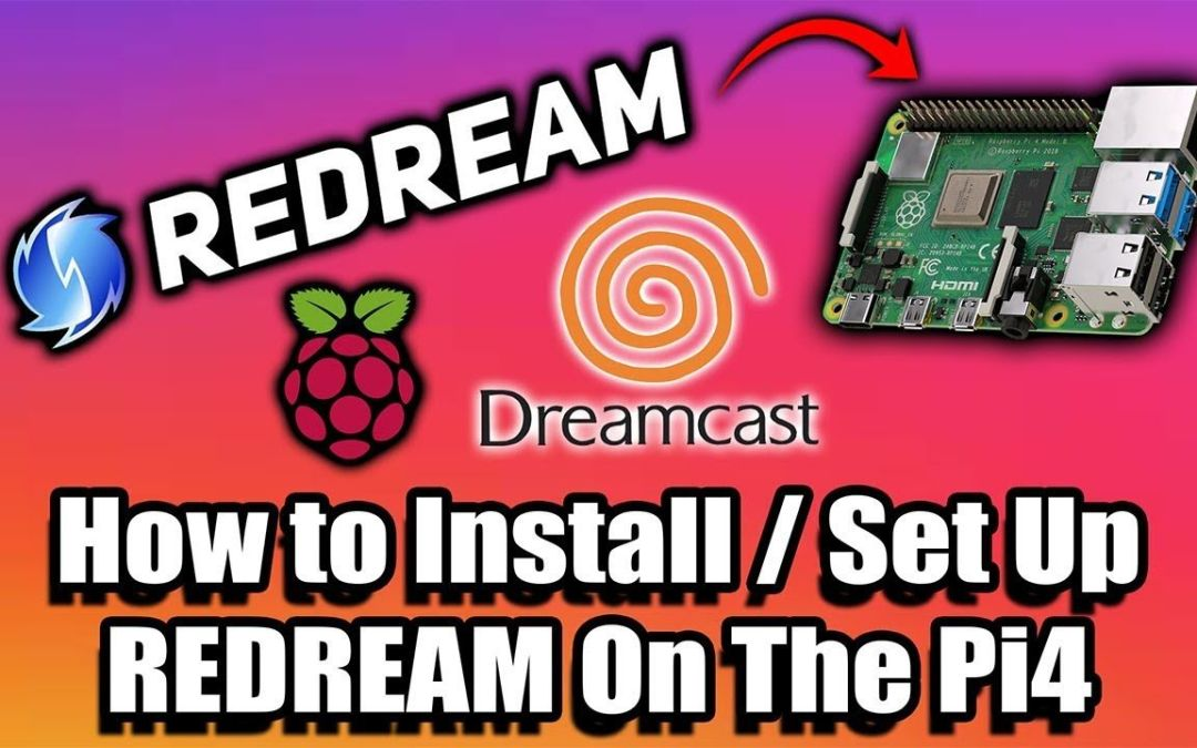 How To Setup and Use Redream on The Raspberry Pi 4 – Dreamcast on the Pi!