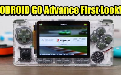 ODROID GO ADVANCE First Look And Test – Could This Be The Best Retro Handheld of 2020!