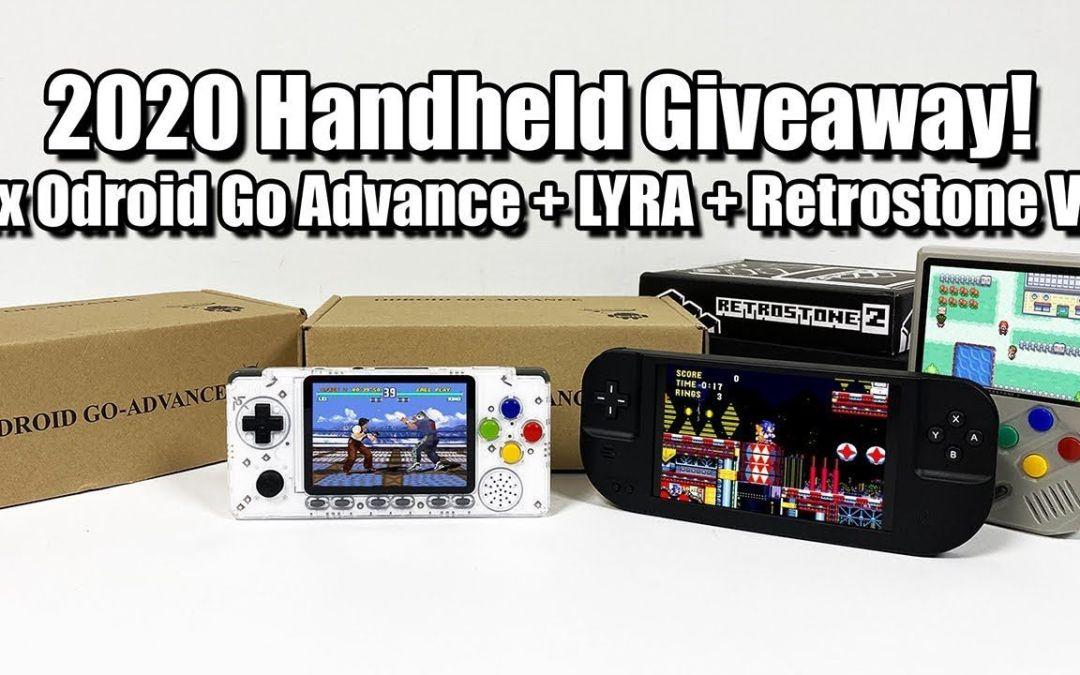 2020 Handheld Giveaway! 2x Odroid Go Advance + LYRA + Retrostone V2