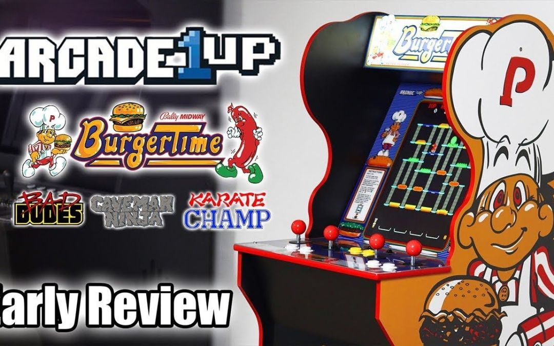 Arcade1Up Burger Time Cabinet Early Look And Review