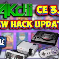 NEW Hakchi CE 3.8 Sega Genesis, NES & SNES Classic Mini Mod Update! Tutorial - Add Consoles & Games!