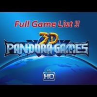 Pandora Games 3D Full Game List Overview !!
