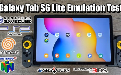 Galaxy Tab S6 Lite Emulation Test! Dolphin, PPSSPP, REDREAM and More