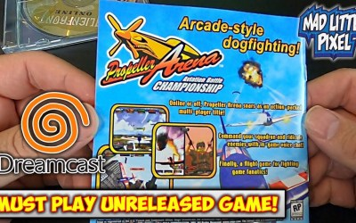 Must Play Cancelled/Unreleased Sega Dreamcast Game – Propeller Arena!