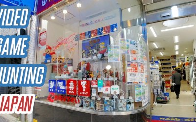 Rare video game console in sight!│ VIDEO GAME HUNTING in HARD OFF │ Nagoya, Japan