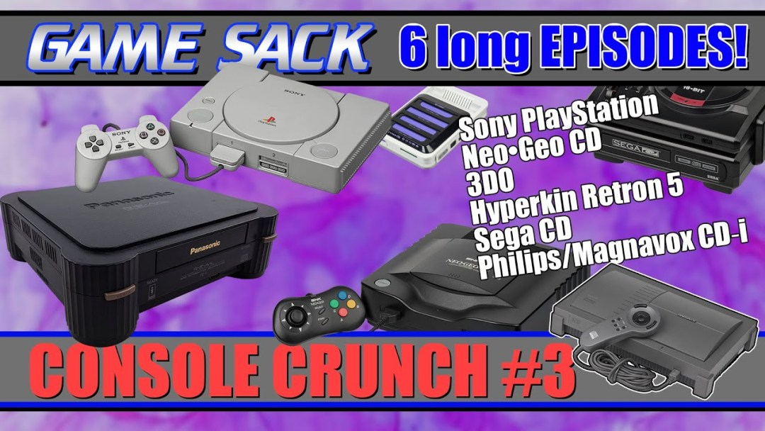 Console Crunch #3 – Game Sack