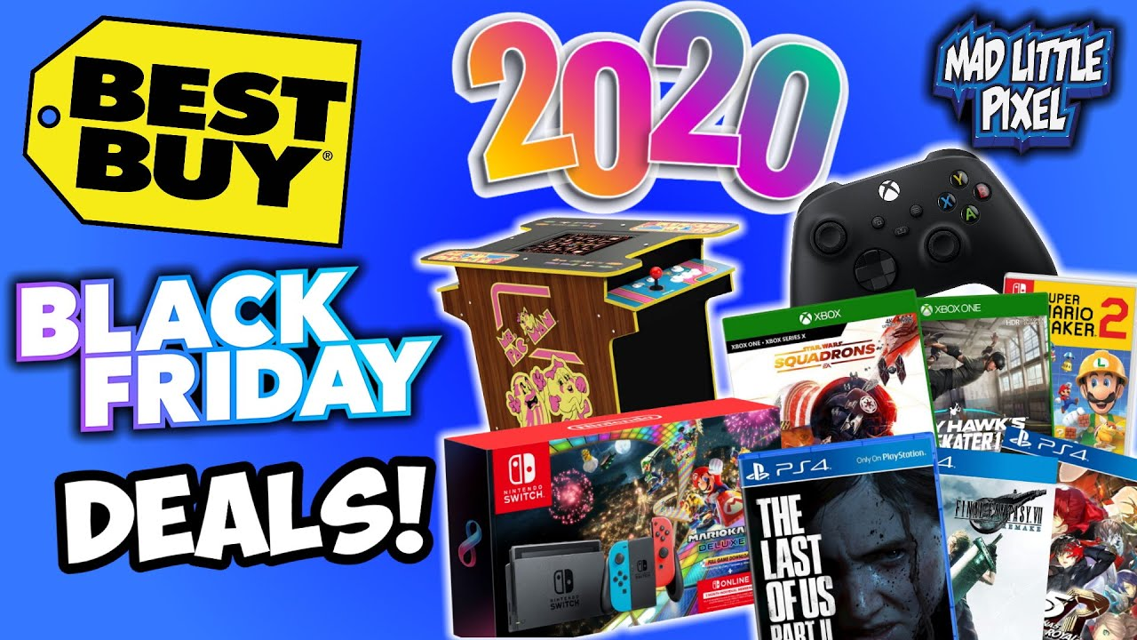Best Buy 2020 Black Friday Deals Revealed Forget Thanksgiving We Want Those Video Game Deals The Gamepad Gamer