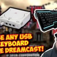 How To Use Any USB Keyboard On The Sega Dreamcast! Testing With The Typing Of The Dead!