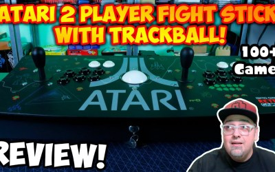Official Atari Ultimate Dual Arcade Fight Stick with Trackball & Over 100 Games! Worth It Or Junk?