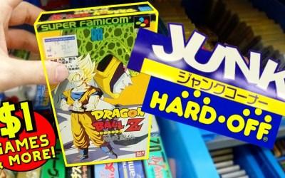 TREASURE or JUNK!? │ RETRO GAME HUNTING in BOOK OFF & HARD OFF │ Nagoya, Japan